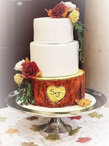 Delivered today __I do love autumnal cak