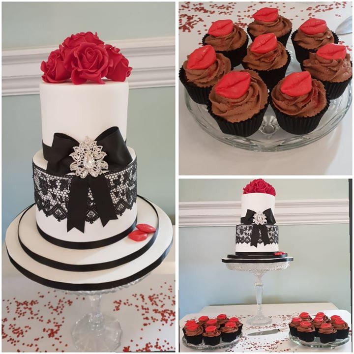 Yesterdays wedding cake x