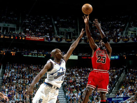 Michael Jordan failed: then succeeded