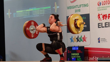 180923 Lauren racks a 108 clean at WUC P