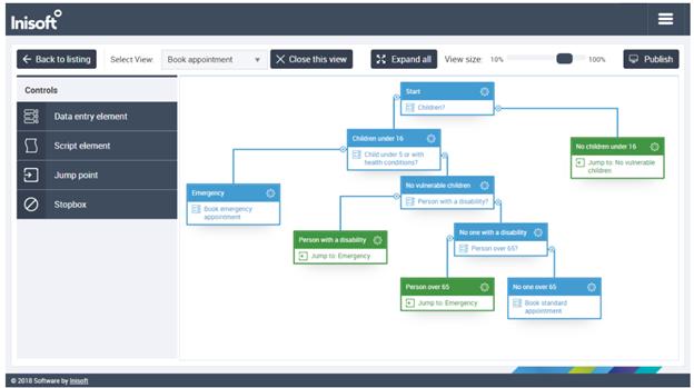 Inisoft Call Center Scripting Software Screenshot
