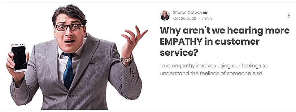 More Empathy in Customer Service
