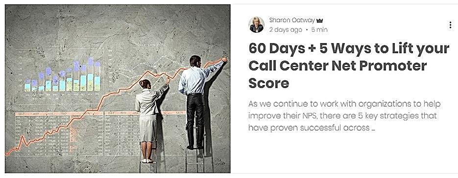 Ways to improve Net Promoter Score