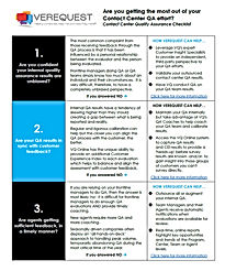 Quality Assurace Checklist