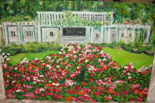Cranford Rose Garden - Notecards