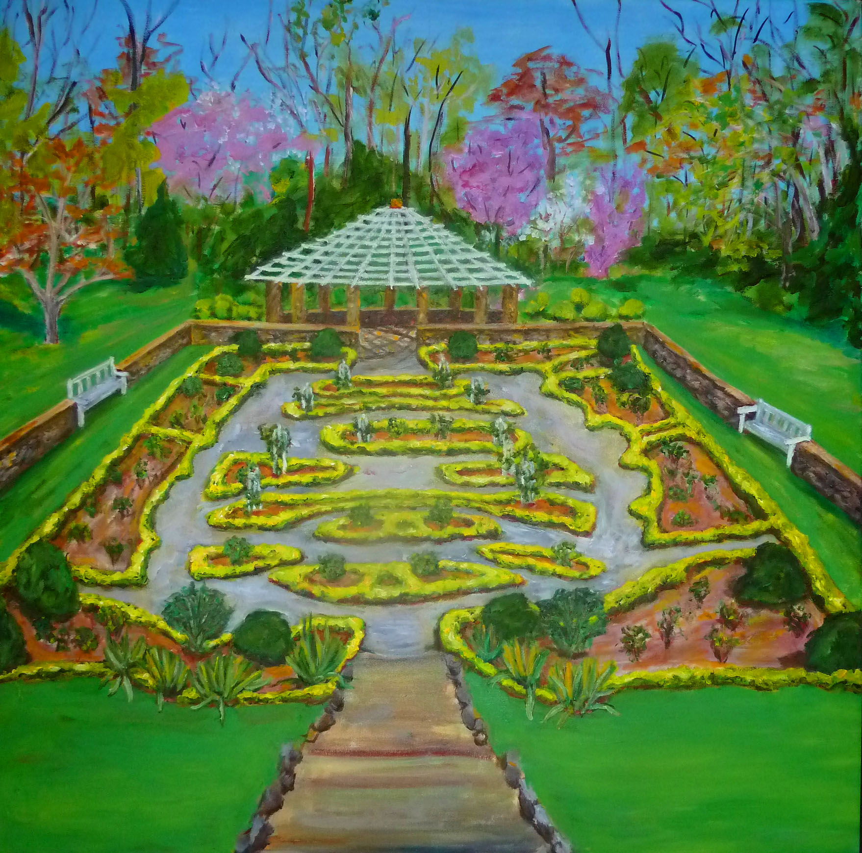 Deep Cut Park- oil on canvas 3ft x 3ft.jpg
