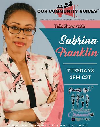 Sabrina Franklin Show Flyer.png