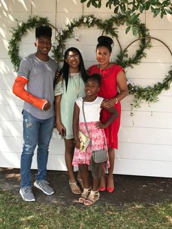 Sister-friend & Godchildren