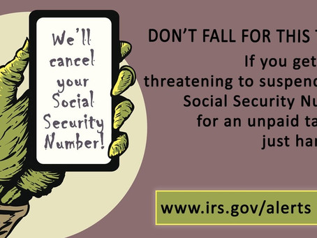 Be on the lookout for new variations of tax-related scams.