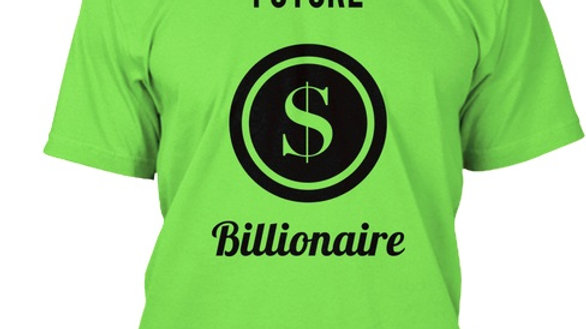 Future Billioniare Short Sleeve (color shown)