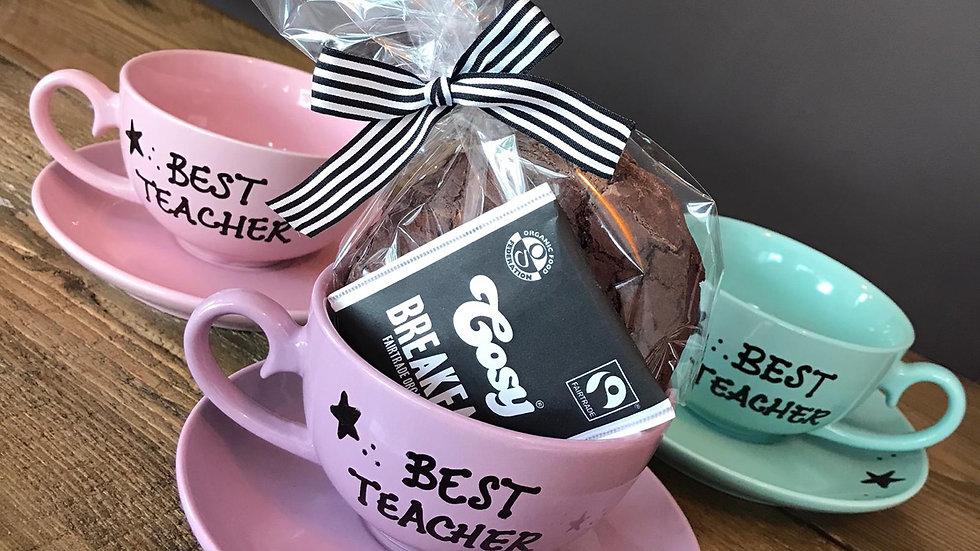 Best Teacher Tea Cups