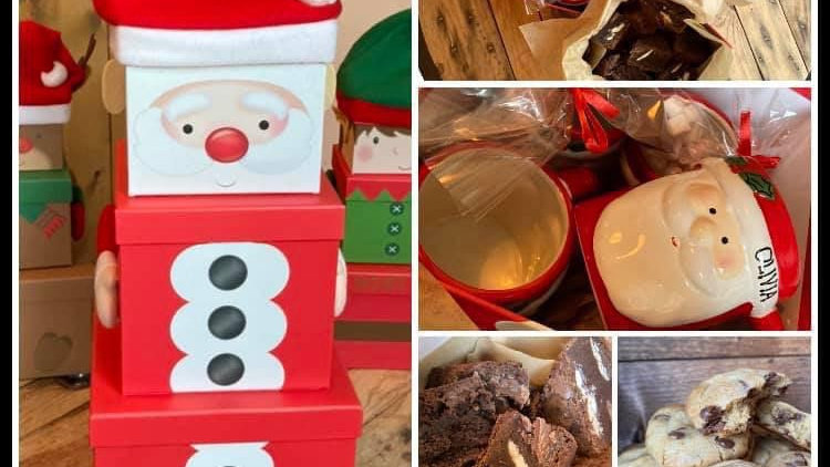 Father Christmas Family Treat Boxes