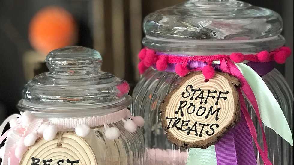 Large Treat Jar