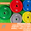 Thumbnail: Coloured bumper and Olympic barbell bundle | Sets | Mid March Dispatch