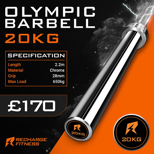 20kg Olympic Barbell