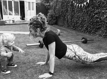 Guest blog from @holls.pt ; How do I exercise as a mum?