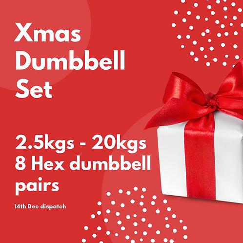 Xmas Dumbbell Selection (Dispatch 14th Dec)