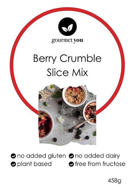 Berry Crumble Slice Mix