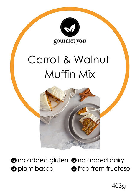 Carrot & Walnut muffin mix