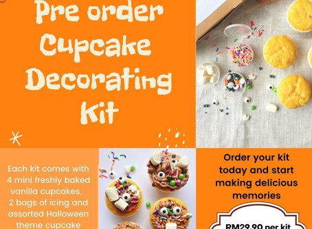 Halloween Cupcake Decoration Kit