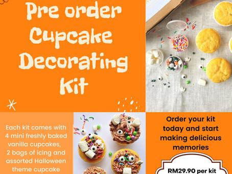 Halloween Cupcake Decoration Kit