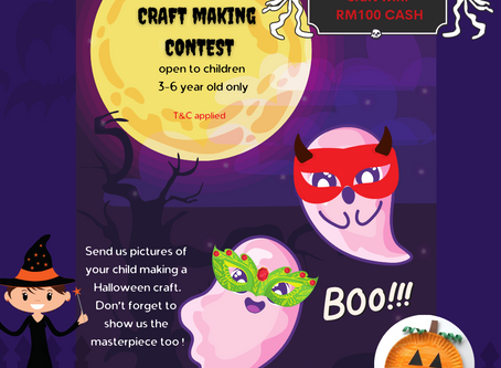 Halloween Craft Making Contest