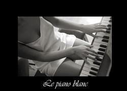 32 - Le piano blanc