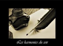 36 - Les harmonies du soir