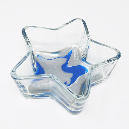 Silver Seas Glass Star