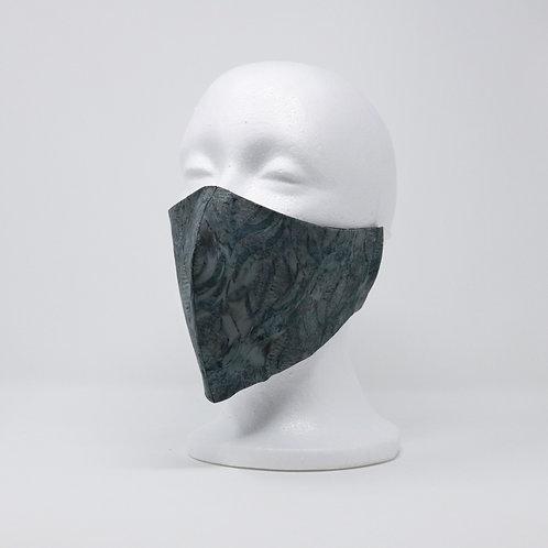 Steel Grey Batik Mask