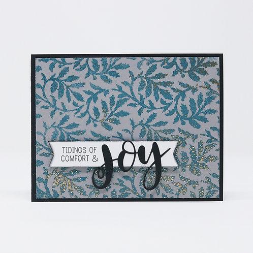 TIdings of Joy Greeting Card