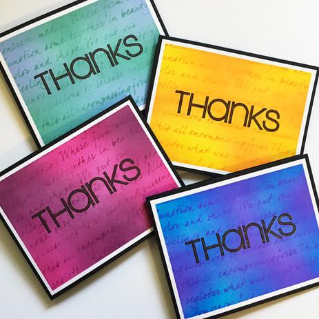 Thank You Colour Script