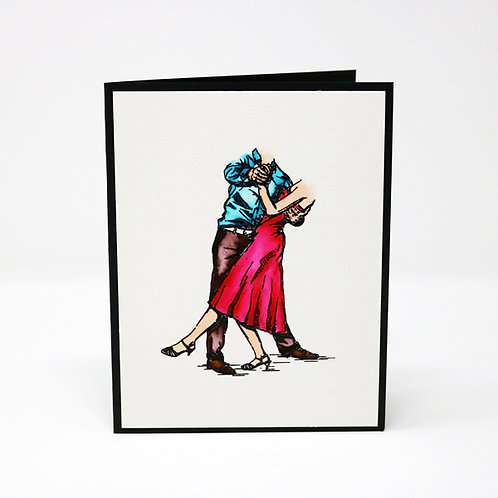 Dancing Couple Greeting Card