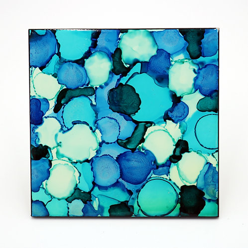 Tidal Pool Ceramic Trivet