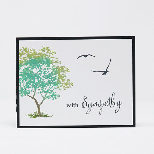 Sympathy Tree Greeting Card