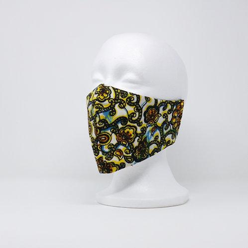 Vintage Swirls Mask