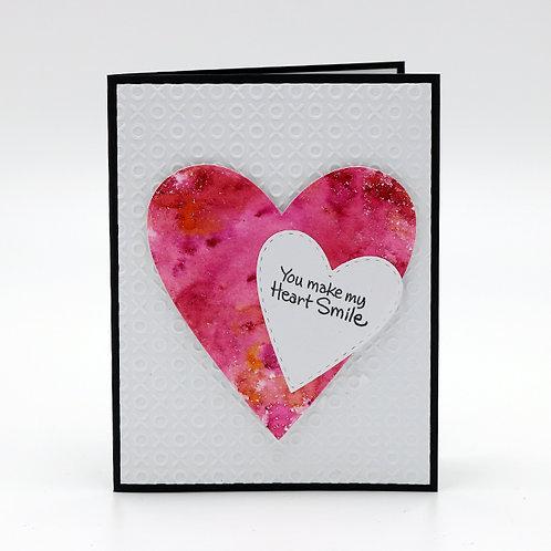 Make My Heart Smile Greeting Card