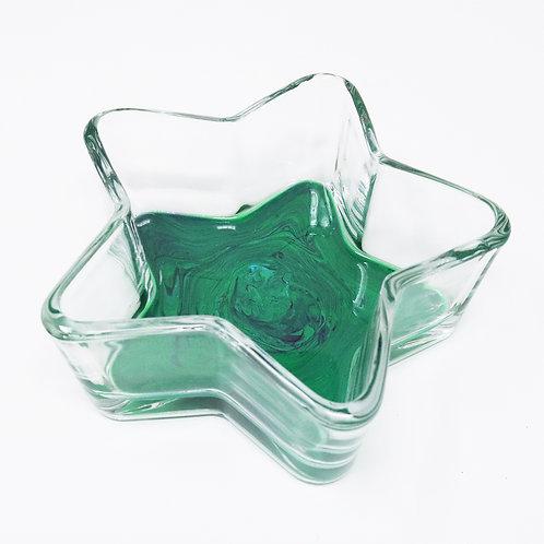 Forest Floor Glass Star