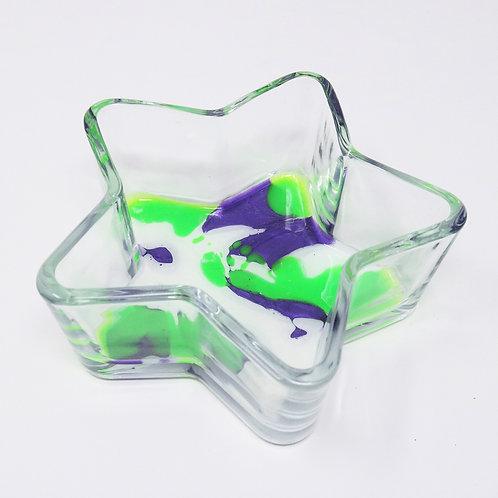 Neon Dream Glass Star