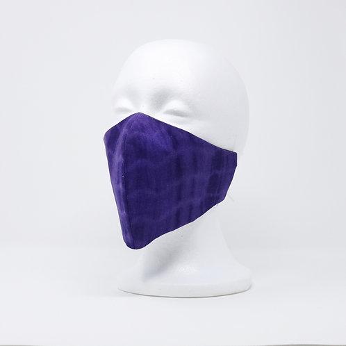 Purple Tie Dye Mask