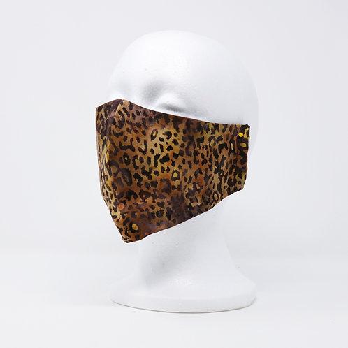 Cheetah Batik Mask