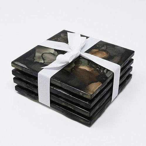 Chocolate Fudge Coasters (set of 4)