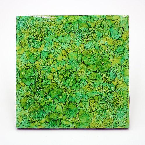 Grassy Hill Ceramic Trivet