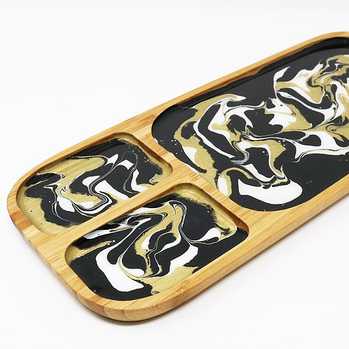 Golden Tiger Serving Platter