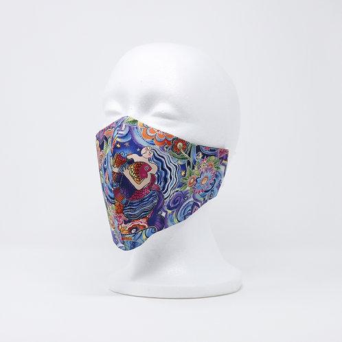 Sea Goddess Mask