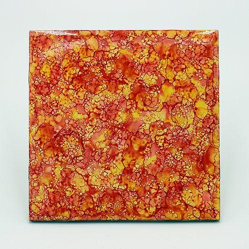 Orange Marmalade Ceramic Trivet