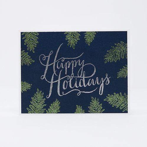 Holiday Shimmer Greeting Card