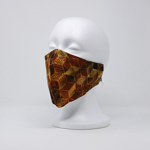 Geometric Batik Mask