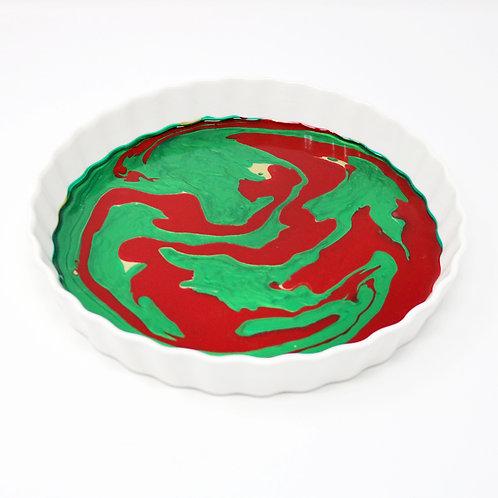 Festive Fantasy Ceramic Serving Platter