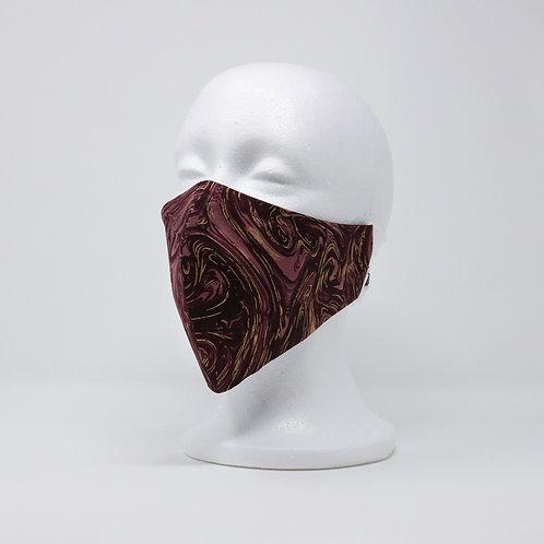 Holiday Burgundy Mask